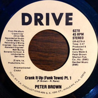 Peter Brown - Crank It Up (Funk Town) Pt. 1