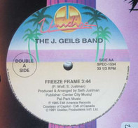 Peter Brown / The J. Geils Band - Can't Be Love - Do It To Me Anyway / Freeze Frame