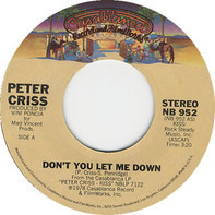 Peter Criss - Don't You Let Me Down