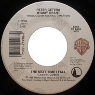 Peter Cetera W/ Amy Grant / Peter Cetera - The Next Time I Fall / Glory Of Love