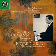 Philharmonia Orchestra | Herbert von Karajan • Alceo Galliera | Robert Schumann | Edvard Grieg - Klavierkonzert A-Moll Op. 54 | Klavierkonzert A-Moll Op. 16