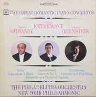 Philippe Entremont , Eugene Ormandy , Leonard Bernstein - The Great Romantic Piano Concertos