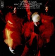 Philippe Entremont / Seiji Ozawa , Aram Khatchaturian , Franz Liszt , Philharmonia Orchestra - Concerto For Piano And Orchestra; Hungarian Fantasia