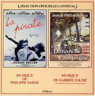 Philippe Sarde , Gabriel Fauré - La Pirate / Un Dimanche À La Campagne