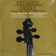 Henryk Wieniawski / Bartok - 7th International Wieniawski Violin Competition Poznań '77
