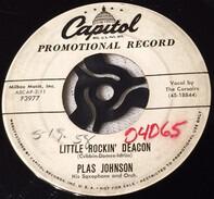 Plas Johnson His Saxophone And Orchestra - Little Rockin' Deacon / Dinah