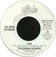 Platinum Blonde - Fire