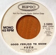 Poco - Good Feeling To Know