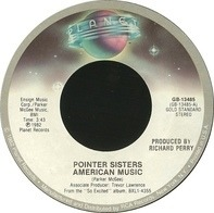 Pointer Sisters - American Music / I'm So Excited