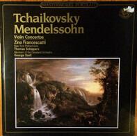 Tchaikovsky / Mendelssohn-Bartholdy - Zino Francescatti w/ NY Philh. - Violin Concertos