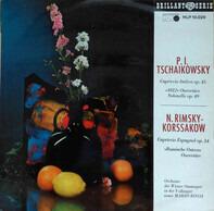 Pyotr Ilyich Tchaikovsky , Nikolai Rimsky-Korsakov , Orchester Der Wiener Staatsoper In Der Volksop - Capriccio italien / capriccio espagnol