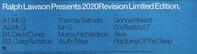 Ralph Lawson - 2020 Revision