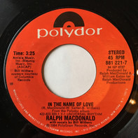 Ralph MacDonald - In The Name Of Love / Play Pen
