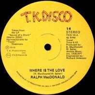 Ralph MacDonald - Where Is The Love / Calypso Breakdown