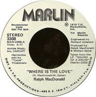 Ralph MacDonald - Where Is The Love