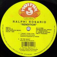 Ralphi Rosario - Rendition