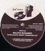 Ralphi Rosario - Chicago's Most Wanted E.P