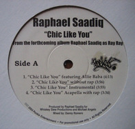 Raphael Saadiq - Chic Like You / Rifle Love