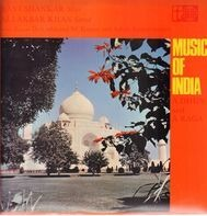 Ravi Shankar & Ali Akbar Khan With Kanai Dutta And NC Kumar And Ashish Kumar - Music Of India: Ā Dhun And Ā Raga