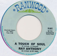 Ray Anthony - A Touch Of Soul / On Treasure Island