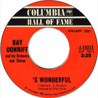 Ray Conniff And His Orchestra & Chorus - 'S Wonderful / Say It With Music