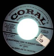 Ray Eberle and Tex Beneke and His Orchestra - A Nightingale Sang In Berkeley Square / Booglie Wooglie Piggy