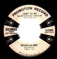 Ray Ellis And His Orchestra - 36-26-36 / Come To Me