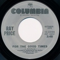 Ray Price - For The Good Times / I Won't Mention It Again