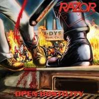Razor - Open Hostility (Ltd.Transparent Yellow/Red Splatt