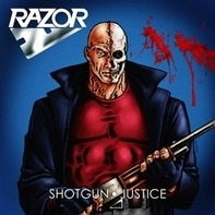 Razor - Shotgun Justice (Ltd.Blue/Red Splatter Vinyl)