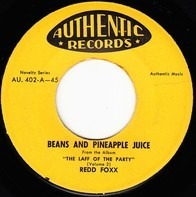 Redd Foxx - Beans And Pineapple Juice / The Army