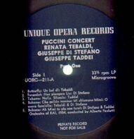 Renata Tebaldi, Giuseppe di Stefano, Giuseppe Taddei - Puccini Concert