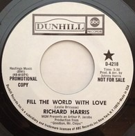 Richard Harris - Fill The World With Love