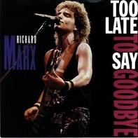 Richard Marx - Too Late To Say Goodbye