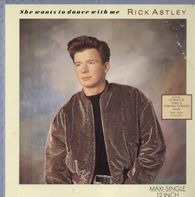 Rick Astley - She Wants To Dance With Me / Instrumental