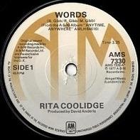Rita Coolidge - Words