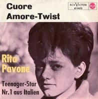 Rita Pavone - Cuore / Amore-Twist