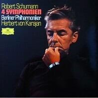 Robert Schumann - Herbert von Karajan , Berliner Philharmoniker - 4 Symphonien
