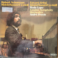 Robert Schumann , Edvard Grieg , The London Symphony Orchestra , André Previn , Radu Lupu - Piano Concertos