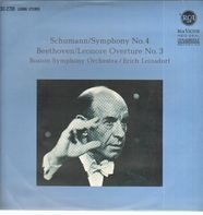 Robert Schumann,Ludwig van Beethoven / Boston Symphony Orchestra, E. Leinsdorf - Schumann/Symphony No. 4  Beethoven/Leonore Overture No. 3