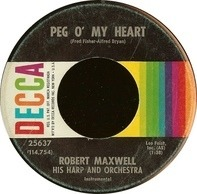 Robert Maxwell, His Harp And Orchestra - Peg O' My Heart / Little Dipper