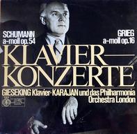 Schumann, Grieg - Klavierkonzerte (Walter Gieseking, Herbert Von Karajan)