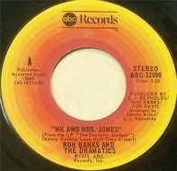 Ron Banks And The Dramatics - Me And Mrs. Jones / I Cried All The Way Home
