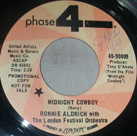 "Ronnie Aldrich With The London Festival Orchestra - Midnight Cowboy / Theme From "" In The Dark"""