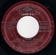 Rosalie Allen - Rosalie Allen Sings Country Ad Western Hits