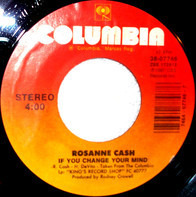 Rosanne Cash - If You Change Your Mind
