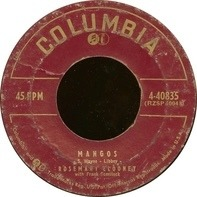 Rosemary Clooney With Frank Comstock - Mangos / Independent (On My Own)