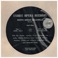 Rossini - Petite Messe Solonelle