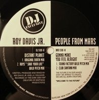 Roy Davis Jr. - People From Mars