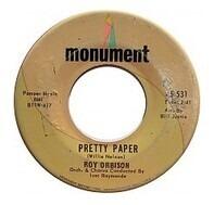 Roy Orbison - Pretty Paper / Beautiful Dreamer